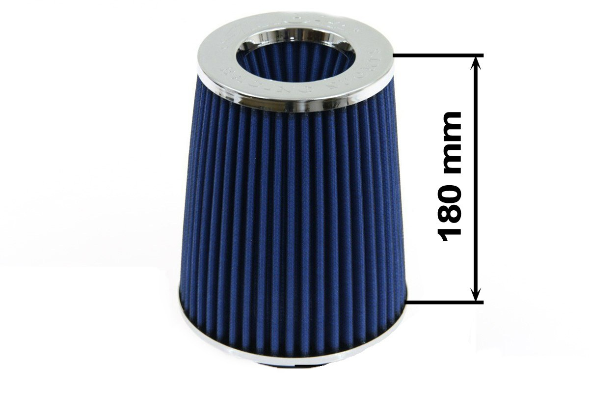 Filtr stożkowy SIMOTA JAUWS-018A 60-77mm Blue - GRUBYGARAGE - Sklep Tuningowy